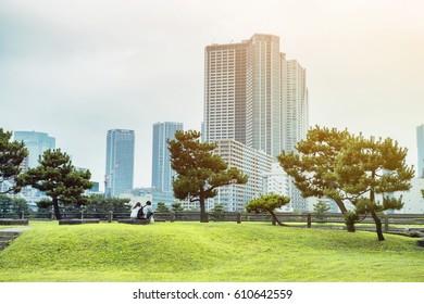 Tokyo park.