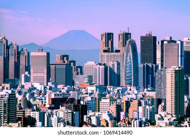 TOKYO - SEP.8: With over 35 million people, Tokyo is the world's most populous metropolis and is described as one of the three command centers for world economy September 8, 2016 in Tokyo, Japan