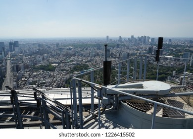 Tokyo skyline seen from the Roppongi Hills