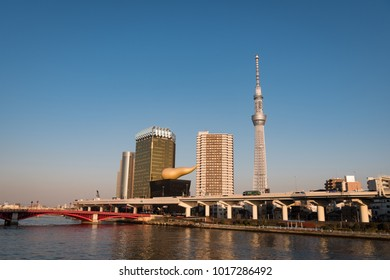 Tokyo Skytree Captured from Asakusa