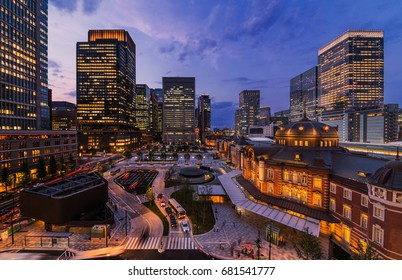 Tokyo Station and Building/Tokyo Station is a station of the Japanese capital