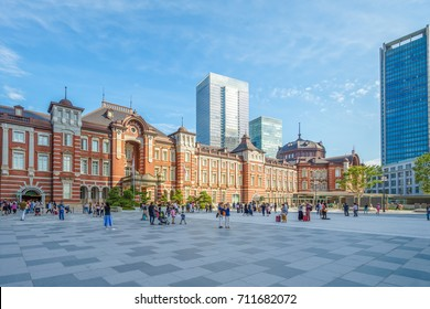 tokyo station, a railway station in the Marunouchi business district of Chiyoda, Tokyo, Japan