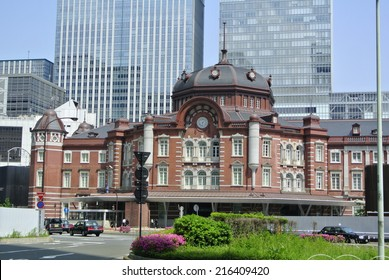 Tokyo Station, renovated in 2012
