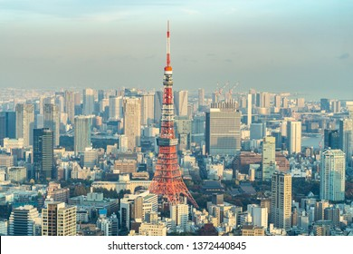 Tokyo Tower, Japan - communication and observation tower. It was the tallest artificial structure in Japan until 2010 when the new Tokyo Skytree became the tallest building of Japan.