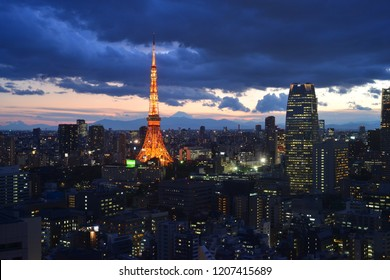 Tokyo Tower at the night