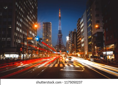 The tokyo tower in Roppongi, Tokyo