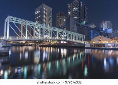 Tokyo waterfront night view ( 2016.02.19 Tokyo Japan )