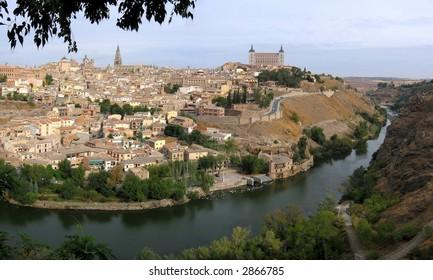 Toledo. Big panorama.