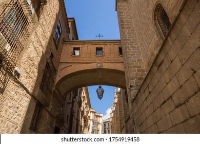Arc de la cathédrale de Tolède à Castille-la-Manche en Espagne
