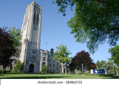 TOLEDO, OH - JUNE 2:  The University of Toledo, shown on June 2, 2015, has an enrollment of over 20,000 students.