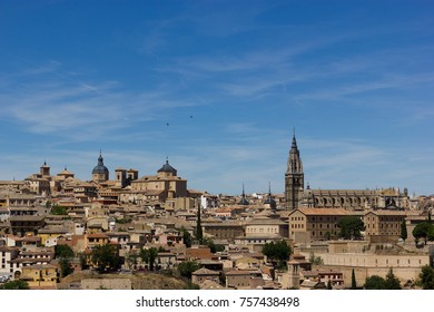 Toledo old city with beautiful architecture near Madrid, Spain