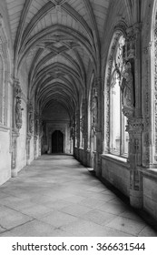 Toledo. Spain. - Toledo. Spain. - January 29, 2014: Cloister. The Monastery of San Juan de los Reyes, is located in Toledo. Spain.