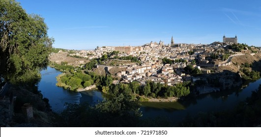 Toledo, Spain, a monumental and cultural heritage site recognised by UNESCO