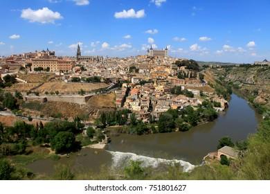 Toledo, Spain, old town cityscape