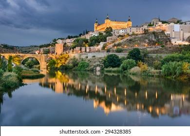 Toledo, Spain on the Tagus River.