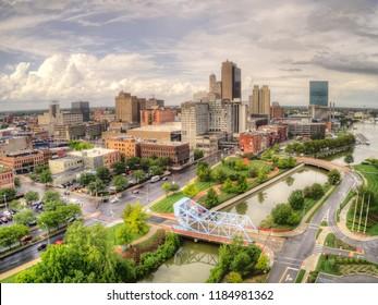 Toledo is an Urban Center in Ohio