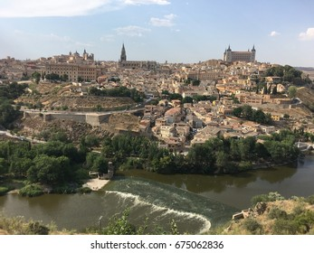 Toledo view with river