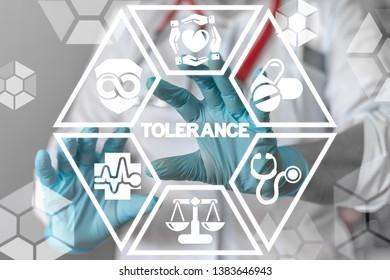 Tolerance Health Care Human Rights Gender Equality concept. Tolerant Medicine.