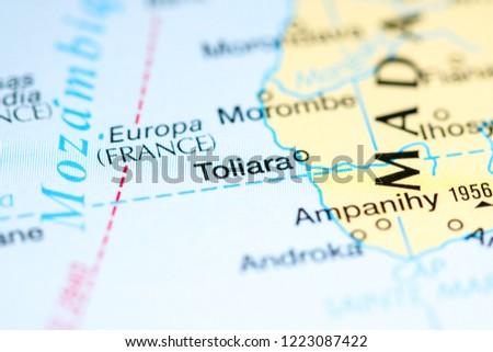 Toliara Madagascar Africa On Map Stock Photo (Edit Now) 1223087422 ...
