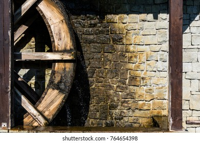 a tolling wheel of windmill