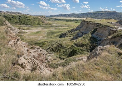 Tolman Park in the Red Deer River valley near the town of Trochu, Alberta, Canada