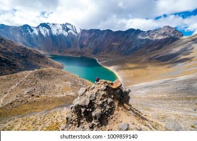 Toluca, México, México; January 20, 2018. Amazing Landscape in Nevado de Toluca.