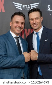 """Tom and Brian Nagel attend  Skyline Entertainment's  """"The ToyBox"""" Los Angeles  Premiere at Laemmle's NoHo 7, North Hollywood, California on September 14th, 2018"""