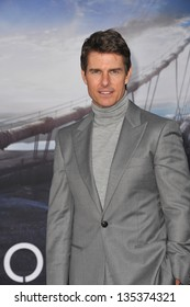 """Tom Cruise at the American premiere of his new movie """"Oblivion"""" at the Dolby Theatre, Hollywood. April 10, 2013  Los Angeles, CA Picture: Paul Smith"""