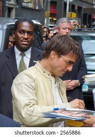 Tom Cruise Signs Autographs May, 2006