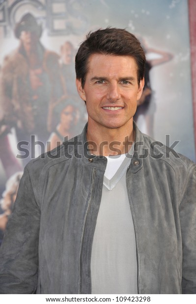 """Tom Cruise at the world premiere of his new movie """"Rock of Ages"""" at Grauman's Chinese Theatre, Hollywood. June 9, 2012  Los Angeles, CA Picture: Paul Smith / Featureflash"""