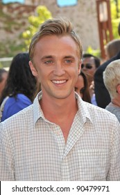 Tom Felton arrives at the 2011 Teen Choice Awards at the Gibson Amphitheatre, Universal Studios, Hollywood. August 7, 2011  Los Angeles, CA Picture: Paul Smith / Featureflash
