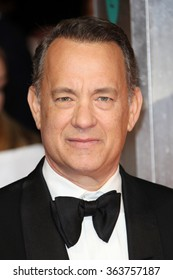 Tom Hanks attends the EE British Academy Film Awards 2014 at The Royal Opera House on February 16, 2014 in London.