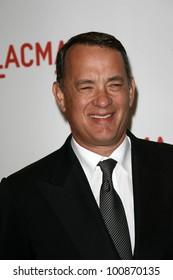 "Tom Hanks  at LACMA presents ""The Unmasking,"" LACMA< Los Angeles, CA. 09-25-10"