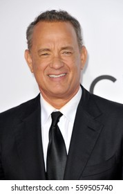 Tom Hanks at the People's Choice Awards 2017 held at the Microsoft Theater in Los Angeles, USA on January 18, 2017.