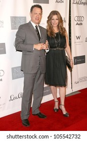 Tom Hanks and Rita Wilson at the Annual Backstage At The Geffen Gala. Geffen Playhouse, Los Angeles, CA. 03-09-09