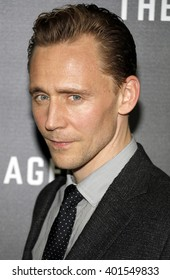 Tom Hiddleston at the Los Angeles premiere of 'The Night Manager' held at the DGA Theater in Hollywood, USA on April 5, 2016.