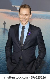 Tom Hiddleston at the Los Angeles premiere of 'Kong: Skull Island' held at the El Capitan Theatre in Hollywood, USA on March 8, 2017.