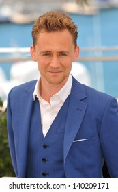 """Tom Hiddleston at photocall at the 66th Festival de Cannes for his movie """"Only Lovers Left Alive"""". May 25, 2013  Cannes, France"""