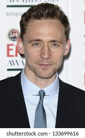Tom Hiddlestone arrives for the Empire Film Awards 2013 at the Grosvenor House Hotel, London. 24/03/2013 Picture by: Steve Vas