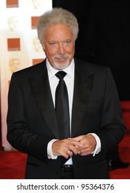Tom Jones attends the Orange British Academy Film Awards 2012 at the Royal Opera House. February 12, 2012, London, UK Picture: Catchlight Media / Featureflash