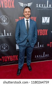 """Tom Nagel attends Skyline Entertainment's  """"The ToyBox"""" Los Angeles  Premiere at Laemmle's NoHo 7, North Hollywood, California on September 14th, 2018"""