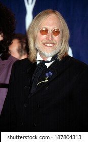 Tom Petty at the Rock and Roll Hall of Fame, NYC, 3/18/2002