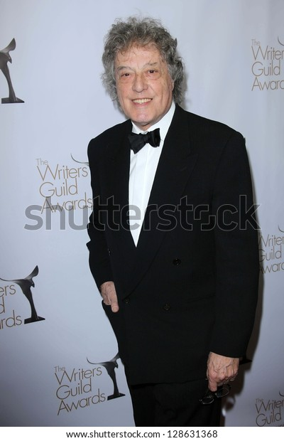 Tom Stoppard at the 2013 Writers Guild Awards, JW Marriott, Los Angeles, CA 02-17-13