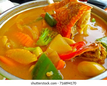 Tom Yum crab