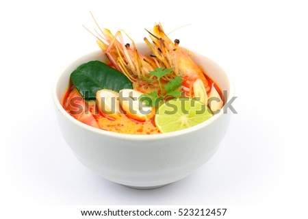 Tom Yum Goong Spicy