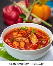 Tom Yum Goong,Thai Food.