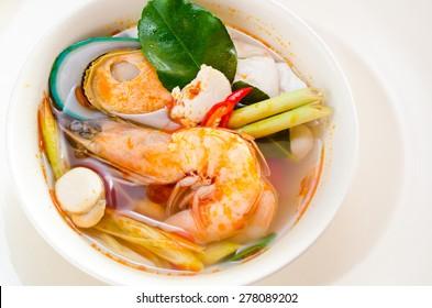 Tom Yum Kung, Thai food