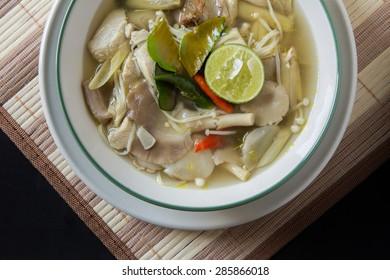 Tom Yum Thai Food Background