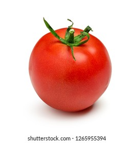 Tomato isolated. Fresh tomato. With clipping path