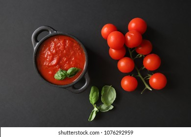 tomato paste and fresh tomatoes
